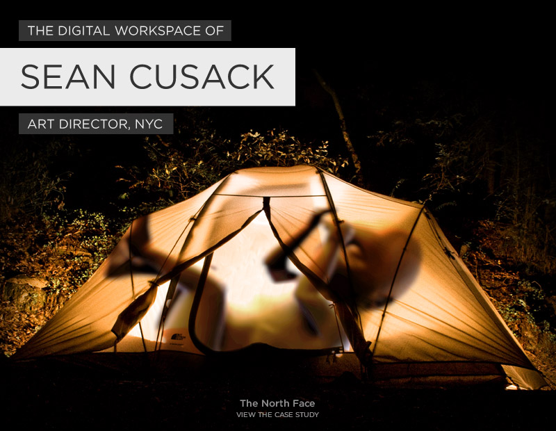 The Digital Workspace of Sean Cusack, Art Director NYC